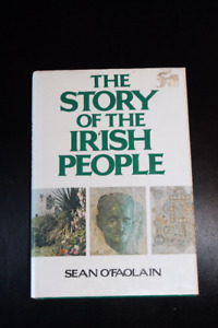 The Story of the Irish People Hardcover Book with Dust Jacket