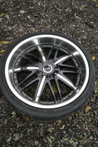 "Set of 4 22"" Rims will fit Land Rover"