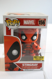 Funko Pop Marvel Deadpool Stingray Vinyl Bobble Head Figure HT E