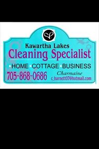 Cleaning services available now! Kawartha Lakes Peterborough Area image 2
