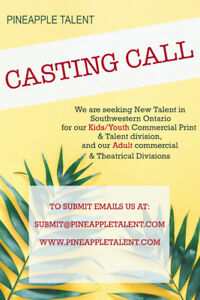 CASTING CALL **** MODELS & TALENT **** KIDS & ADULTS