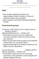 Outgoing, Hardworking woman looking for work (Resume in ad)