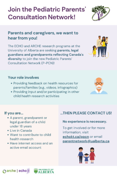 Seeking parents to join an online child health research ...
