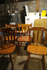 Free dining set (table, chair, end table)