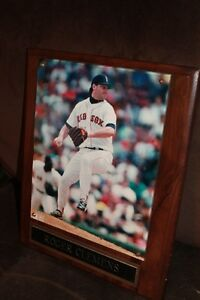 Roger Clemens photo plaque
