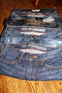 Men's Jeans - Assorted Sizes - 5 Pairs Straight & Boot Cut