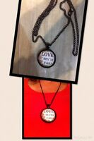 Necklace with quote