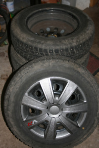 R14 Winter Tires with rims