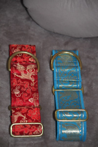 Greyhound Collars, $20 each