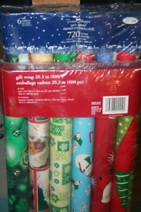 Christmas Wrapping Paper and Christmas cards