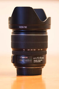 Canon EF-S 15-85mm 3.5-5.6 IS USM Zoom Lens