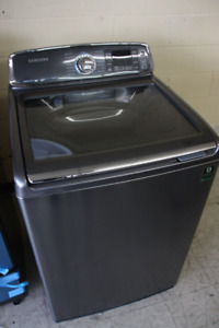 """27"""" STAINLESS STEEL SAMSUNG TOP LOAD WASHER"""