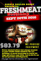 Sarnia Rollerderby bootcamp