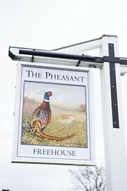 Bar/Floor Supervisor at The Pheasant in Buckland