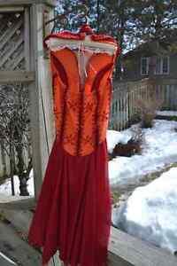 Beautifully Detailed Skating Dress Kitchener / Waterloo Kitchener Area image 3