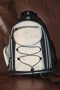 (Camera Bag) RZ30BK BLACK/TAN SLING BACKPACK London Ontario image 1