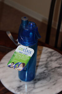 O2Cool mist and sip bottle