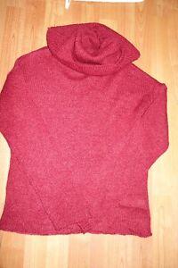 Medium Wine Colored Sweater