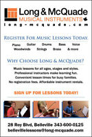Long & Mcquade Music Lessons
