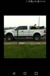 07 F150 lifted loaded
