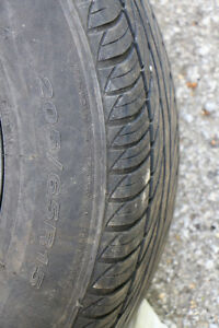 Used -Four Tires and Rims! 205/65R15 - Atrezo Salium All Seasons