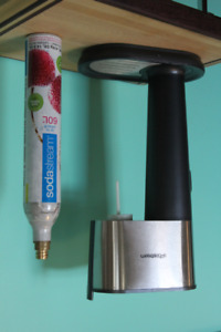 SodaStream Pure in grey with 2 CO2 canisters. $100 or best offer