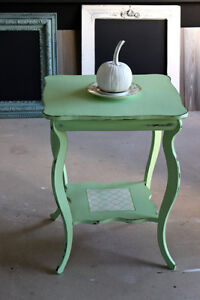 Table d'appoint - Side table - Antique - chalk paint