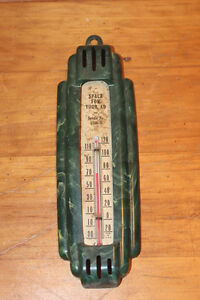 Old Advertising Thermometer - Saleman Sample?