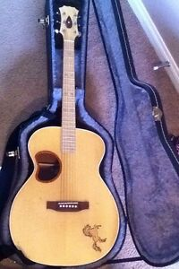 Beautiful handmade acoustic guitar