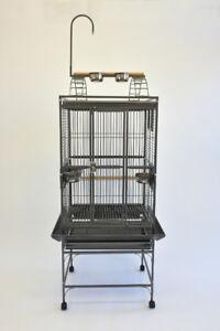 "*ON SALE* 24"" Play Top Parrot Bird Cage Caique Conure Quaker"
