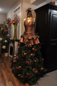 Arbre Noel Mannequin boutique Christmas tree judy display