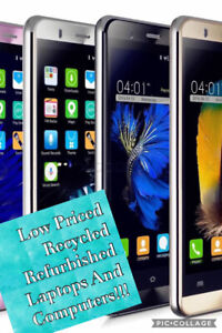 Low Priced,Recycled Phones And Laptops