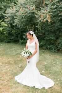 Mermaid Wedding Dress - Paloma Blanca