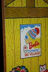 1974 BARBIE OLYMPIC SKI VILLAGE PLAY SET