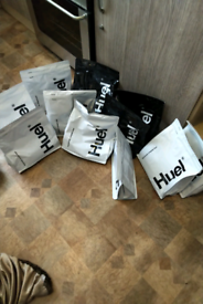 Huel. Long sell by dates. 11 bags.