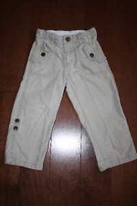 Baby GAP Convertible Pants - 3T
