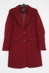 Women's Winter Fall Spring Coat / Maroon Colour / Size: XS US
