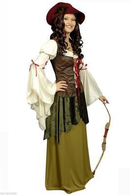 Magd Markt Bäuerin Wirtin Robin Hood Kostüm Kleid Burgdame Freifrau Hofdame Burg ()