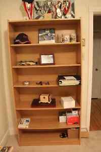 MOVING SALE - Bookshelf Bookcase AND Night table Nightstand