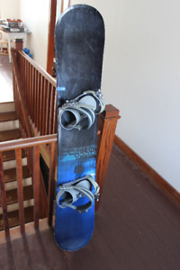 K2 Wide Snowboard with Ride bindings