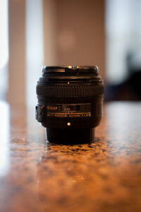 Nikon 50mm 1.8G Lens