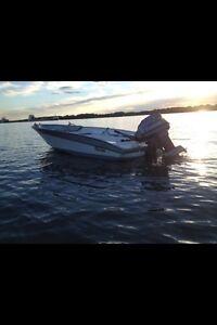 chaloupe bateau peche nordic mariner 60hp