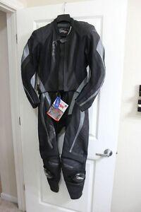 2 piece ladies leather motorcycle suit