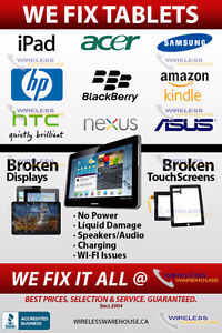 APPLE IPAD & TABLETS- PROFESSIONAL REPAIRS & ACCESSORIES