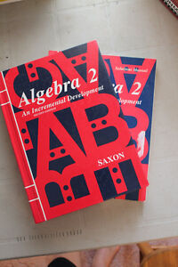Algebra 2 (saxon, 2nd edition)