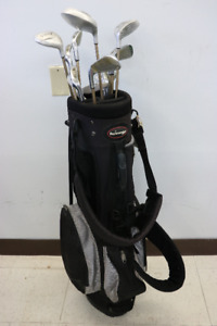 **HOLE IN ONE** 12 Piece Golf set w/ Golf Bag