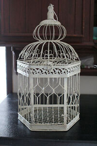 decorative bird cage $25