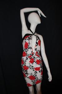Custom made: Open-front dress