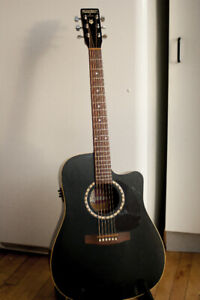 TRADE: Solid Cedar Top Cutaway Acoustic With Electronics