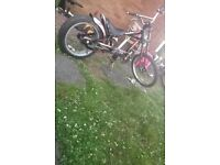 Stingray chopper bike (not bmx ) pedal bike